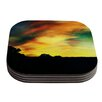 KESS InHouse A Dreamscape Revisited by Caleb Troy Coaster (Set of 4)