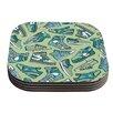 KESS InHouse Sneaker Lover I by Brienne Jepkema Coaster (Set of 4)