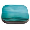 KESS InHouse Calm Sea by Iris Lehnhardt Coaster (Set of 4)