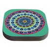 KESS InHouse Surkhandarya by Laura Nicholson Coaster (Set of 4)