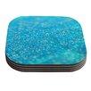 KESS InHouse Mermaid Sparkles by Beth Engel Coaster (Set of 4)