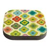 KESS InHouse Forest Bloom by Nicole Ketchum Coaster (Set of 4)