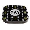 KESS InHouse Yay by Skye Zambrana Coaster (Set of 4)