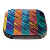 KESS InHouse Set Stripes I by Theresa Giolzetti Coaster (Set of 4)