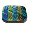 KESS InHouse Set Stripes II by Theresa Giolzetti Coaster (Set of 4)