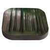KESS InHouse Forest Blur by Alison Coxon Coaster (Set of 4)