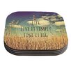 KESS InHouse Life by Alison Coxon Coaster (Set of 4)
