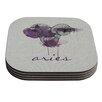 KESS InHouse Aries by Belinda Gillies Coaster (Set of 4)