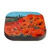 KESS InHouse Poppies by Christen Treat Coaster (Set of 4)