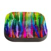 KESS InHouse Jungle Stripes by Frederic Levy-Hadida Painting Coaster (Set of 4)