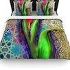 KESS InHouse Arabesque Tulip Duvet Cover