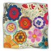 KESS InHouse Charming Floral by Louise Machado Fleece Throw Blanket
