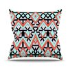 KESS InHouse Geometric Mountains by Pom Graphic Throw Pillow