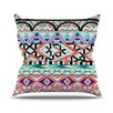 KESS InHouse Tribal Invasion by Pom Graphic Abstract Throw Pillow