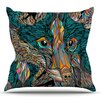 KESS InHouse Fox by Danny Ivan Throw Pillow