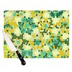 <strong>KESS InHouse</strong> Flower Garden Mosaic Cutting Board