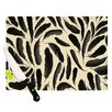 KESS InHouse Feather Pattern Cutting Board