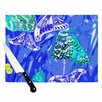 KESS InHouse Butterflies Party Cutting Board