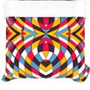 KESS InHouse Stained Glass Duvet