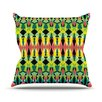 KESS InHouse Triangle Visions Throw Pillow