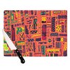 KESS InHouse Squares Cutting Board
