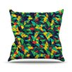 KESS InHouse Fruit and Fun Throw Pillow