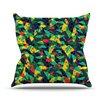 KESS InHouse Fruit and Fun by Akwaflorell Throw Pillow