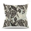 <strong>KESS InHouse</strong> Java Leaf Throw Pillow