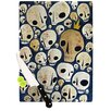 KESS InHouse Skulls Cutting Board