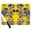 KESS InHouse Bloom Flower Cutting Board