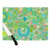 KESS InHouse Welcome Birds To My Garden Cutting Board