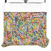 KESS InHouse More Sprinkles by Project M Woven Duvet Cover