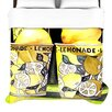 KESS InHouse Lemonade Duvet Cover