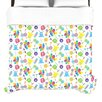 <strong>KESS InHouse</strong> Fun Creatures Duvet Cover