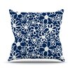 KESS InHouse Daisy Lane Throw Pillow