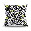 KESS InHouse Pebbles Throw Pillow