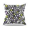 KESS InHouse Pebbles by Emine Ortega Throw Pillow