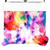 KESS InHouse Technicolor Clouds Duvet Collection