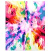KESS InHouse Technicolor Clouds by Caleb Troy Painting Print Plaque