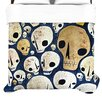 <strong>KESS InHouse</strong> Skulls Duvet Collection