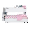 South Shore Mobby Twin Loft Bed with Trundle