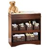 South Shore Peak-a-Boo Changing Table in Royal Cherry
