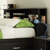 South Shore Lazer Full Bookcase Headboard