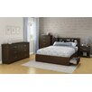 South Shore Fusion Queen Mate's Bedroom Collection