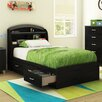 South Shore Lazer Twin Mate's Bed with Headboard