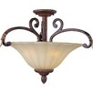 <strong>Wildon Home ®</strong> Octavio 3 - Light Semi - Flush Mount