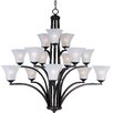 <strong>Wildon Home ®</strong> Alvaro 15 - Light Multi - Tier Chandelier