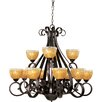 <strong>Maxim Lighting</strong> Barcelona 12 Light Chandelier