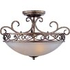 <strong>Phirce 3 - Light Semi - Flush Mount</strong> by Wildon Home ®