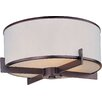 <strong>Inque 3 - Light Flush Mount</strong> by Wildon Home ®